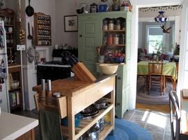 コンパクト,キッチン,収納,カウンター,整理整頓